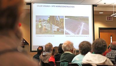 solar farm hearing