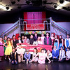 The cast of Grease at the Marquee Youth Stage in St. Charles.
