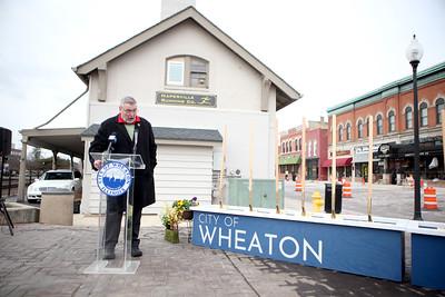 Wheaton Streetscape Project Groundbreaking
