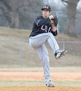 Crystal Lake Central's Dean Mlaka got the start against Woodstock Friday, April 5, 2019 in Woodstock. Central blanked the Blue Streaks 13-0 in five innings.  KKoontz – For Shaw Media