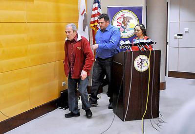 Torres Bond Press Conference