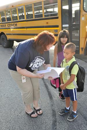 Edgewood's 1st day of school