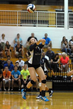 Lisle vs. IC girls volleyball
