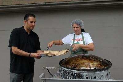 Prep for Taste of Lebanon