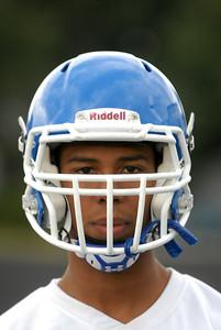 Riverside-Brookfield junior safety Gerrand Moody during practice on Thursday, Aug. 15, 2013. Matthew Piechalak –mpiechalak@shawmedia.com