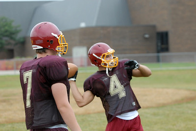 Westmont Football Practice