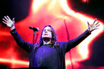 Sarah Nader - snader@shawmedia.com Ozzy Osbourne performs with Black Sabbath during day one of Lollapalooza held at Grant Park in Chicago on Friday, August 3, 2012.