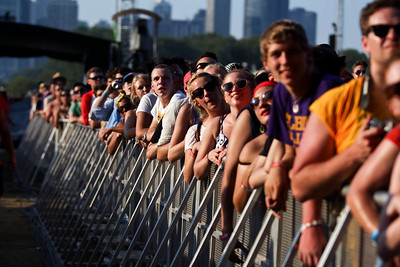 Sarah Nader - snader@shawmedia.com Thousands of fans wait for The Shins to go on during day one of Lollapalooza held at Grant Park in Chicago on Friday, August 3, 2012.