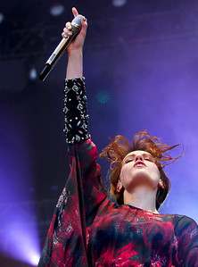 Sarah Nader - snader@shawmedia.com Florence and the Machine performs during day three of Lollapalooza in Chicago on Sunday, August 5, 2012.