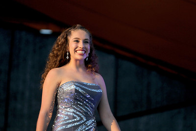 Sarah Nader - snader@shawmedia.com Katey Kelleher, 17, of Cary competes in  the 64th Miss McHenry County Pageant at the McHenry County Fairgrounds on Wednesday, August 1, 2012.