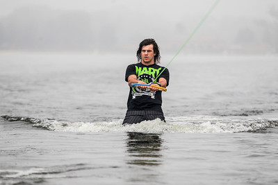 Sarah Nader - snader@shawmedia.com Professional Australian wakeboarder Dylan Prideaux trains for the Rockstar WWA World Championships on Crystal Lake Tuesday, August 6, 2013. Prideaux is being hosted by a local family in Crystal Lake before the competition in Wisconsin this weekend.