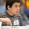 Joe Polito 15, of Warrenville plays a game a bingo during the 19th annual Porky Picnic at  The Vaughan Athletic Center in Aurora, IL on Saturday, August 10, 2013 (Sean King for Shaw Media)