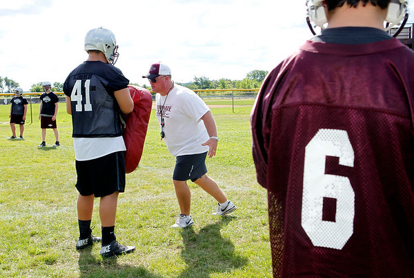 20130814 Prairie Ridge Football practice