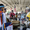 Jeff Krage – For Shaw Media<br /> The opening to the American Indian Pow Wow during Sunday's Festival of The Horse & Drum at the Kane County Fairgrounds.<br /> St. Charles 8/18/13