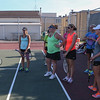 Kaneland Tennis coach Tim Larsen talks to his team during practice at Kaneland High School in Kaneville, IL on Tuesday, August 27, 2013 (Sean King for Shaw Media)