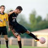 St. Charles East's Daniel DiLeonardi scores the second goal of the night against Batavia Thursday.