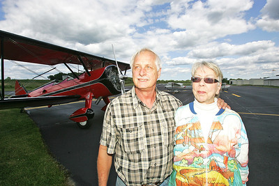 H. Rick Bamman -hbamman@shawmedia.com   Claude and Diane Sonday of Bull Valley bought Galt Airport in June at a foreclosure auction and have been making improovements including sealing and marking the 2800 foot runway, taxiway and  hanger aprons.
