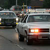 Jeff Krage – For Shaw Media<br /> The Emergency Vehicle Lights and Sirens Parade leaves Tinseltown USA on Friday and heads north on Route 31 in North Aurora.<br /> North Aurora 8/1/14