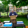 Tony Vimmer, of Westchester, puts together his machinist tool box at the Antique Tool Show and Sale at Garfield Farm Museum in Campton Hills Sunday, Aug. 3.