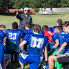 ACC Head Coach Brian Casey talks to his team during practice at Aurora Central Catholic High School in Aurora, IL on Thursday, August 14, 2014 (Sean King for Shaw Media)