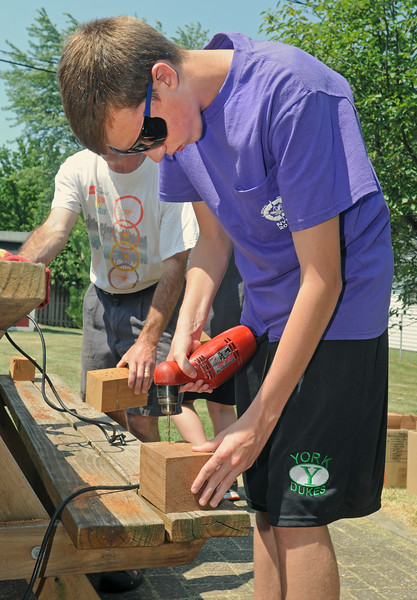 Eagle Scout bee box project