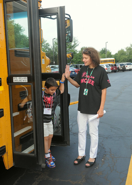 Jamie McGee First School Day