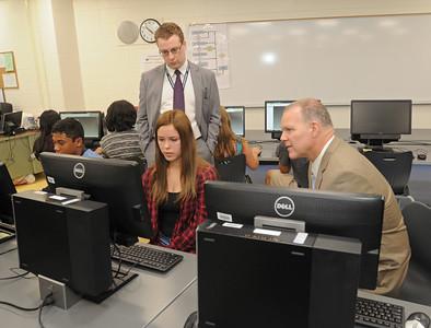 IL School Superintendent visits Woodridge