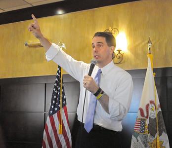 Scott Walker in DuPage County