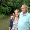 Sherry Lauterbach and Tom Maggio of Batavia undertook a major streambank improvement project along Mahoney Creek, which flows past their home.