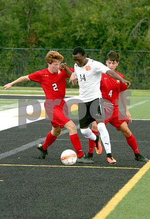 Wheaton Warrenville South boys soccer played host to Batavia Saturday.