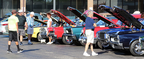 A Rock & Roll Roadshow cruise night was held at the A&W in North Aurora July 1.