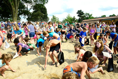 Kayla Wolf - for Shaw Media Kids search for treats and treasure Saturday, Aug. 5, 2017, at Main Beach during the Blast on the Beach sponsored by the Crystal Lake Park District and Crystal Lake Chrysler Jeep Dodge Ram on Saturday.