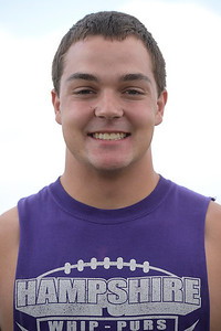 Kayla Wolf - for Shaw Media Hampshire football player Jake See, a junior, is a middle linebacker for the Whippers.