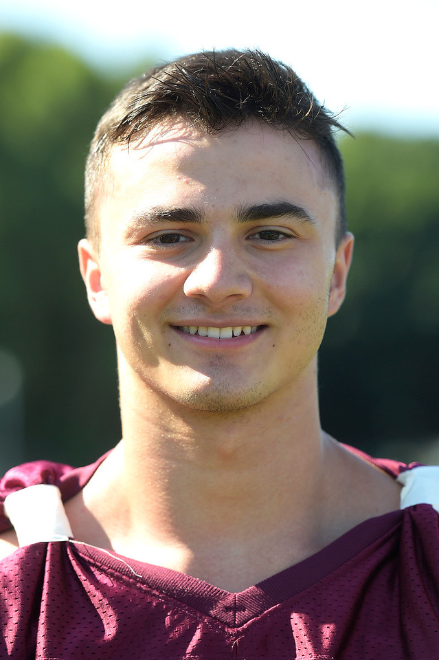 Kayla Wolf - for Shaw Media Marengo football player Oliver Muradian, a senior, is a three sport athlete at Marengo. He participates in football, track and field and wrestling for the Indians.