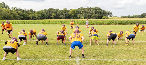 Richmond Burton High School holds football practice Friday, August 11, 2017 in Richmond. KKoontz- For Shaw Media