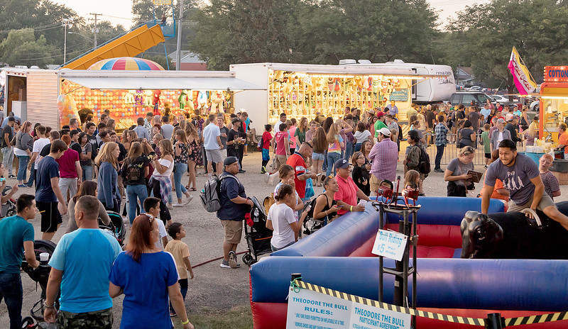 Thousands of area residents showed up for the annual Lakemoor Fest along Lily Lake in Lakemoor during the annual Lakemoor Fest Saturday, August 12, 2017. KKoontz – for Shaw Media