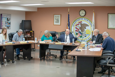 The Algonquin Township board meeting was held Wednesday, August 8, 2018 in Crystal Lake. KKoontz – For Shaw Media