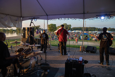 The Big Dog Mercer Band was a big hit at the Blues, Brews, and BBQ Friday, August 17, 2018 at Peterson Park in McHenry. KKoontz – For Shaw Media