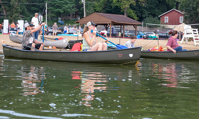 Area residents head to their fishing spot Saturday, August 18, 2018 at Indian Trail Beach in Lake in the Hills for the second annual Conner Kincaid Memorial Fishing Tournament. All proceeds will be donated to the Village of Lake in the Hills on behalf of the life of Connor Kincaid, a lifelong LITH fisherman, and used to restock fishing areas in our community. KKoontz – For Shaw Media