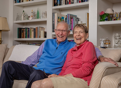 Bob & Rosemarie Blazier reminisce about a story of their younger years Friday, August 24, 2018 in Crystal Lake. The couple have been married 69 years. KKoontz – For Shaw Media