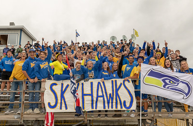 Skyhawk fans were fired up to see former Johnsburg Coach, Mike Maloney, come to town Friday, August 24, 2018 in Johnsburg. Marion Central went on to win the game 14-13. KKoontz – For Shaw Media