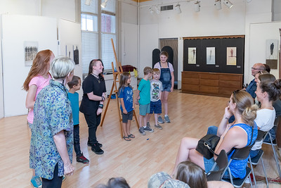 The students at Dickinson's Little Vaudeville perform a routine for their parents Saturday, August 25, 2018 at the Opera House in Woodstock.  Old-fashioned Vaudeville Variety skills, acting, comedy routines, stage direction, Vaudeville terminology, and more are taught at the school.  KKoontz – For Shaw Media