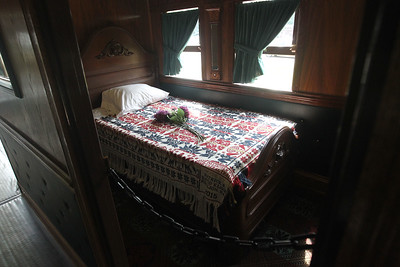 Candace H. Johnson-For Shaw Media The stateroom inside the 2015 Lincoln Funeral Car in downtown Antioch. (8/26/18)
