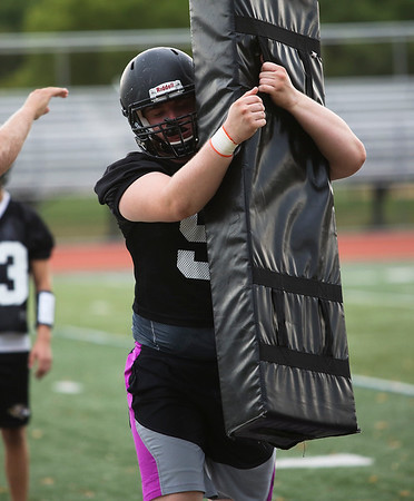 Downers Grove North Football Practice