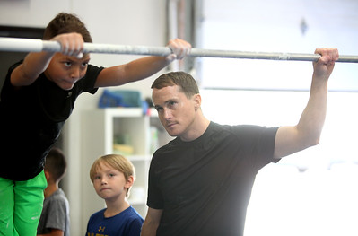 Paul Hamm at Premier Gymnastics