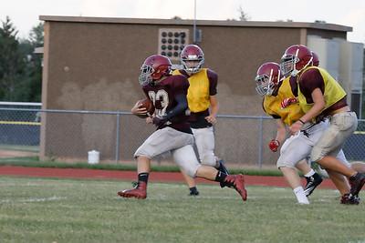 Westmont High School Football Scrimmage