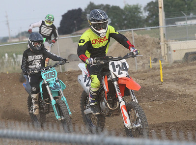 Candace H. Johnson-For Shaw Media Racers compete in Motocross during the Lake County Fair at the Lake County Fairgrounds in Grayslake. (7/25-7/28/19)