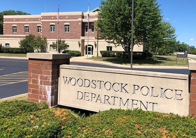 Woodstock Police Department, photographed Tuesday, Aug. 4, 2020