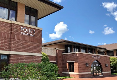 Huntley Police Department and Village Hall is photographed on Thursday, Aug. 6, 2020 in Huntley.