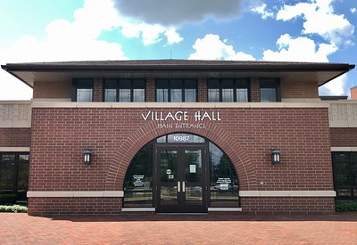 Huntley Village Hall is photographed on Thursday, Aug. 6, 2020 in Huntley.